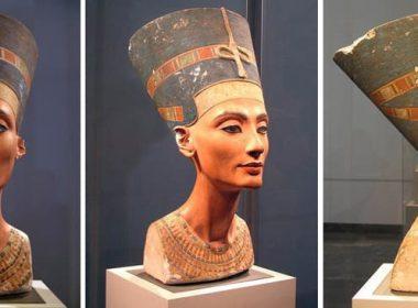 красивая шея Нифертити
